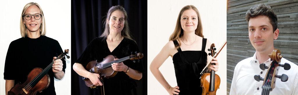 Skolkonsert för Helsingborgs Kulturskola med en stråkkvartett ledd av Emma Dencker - Tisdag 30 november 19.00 i Dunkers kulturhus