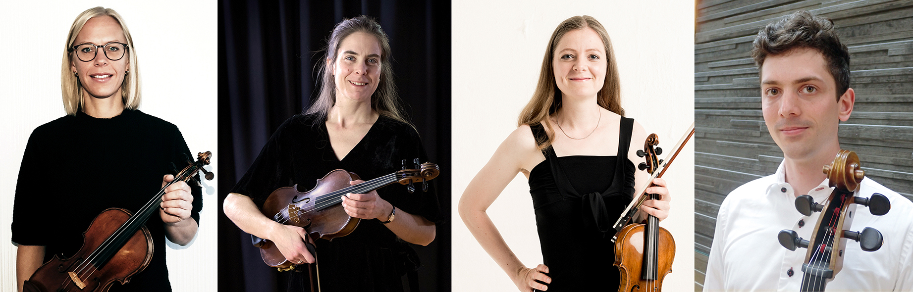Skolkonsert för Helsingborgs Kulturskola med en stråkkvartett ledd av Emma Dencker - Tisdag 16 november 18.00 Konsertsalen, Dunkers kulturhus